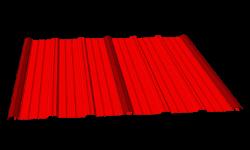 Blacha elewacyjna T25 z łącznikiem